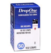 DROP ONE Tesztcsík Vércukormérőhöz