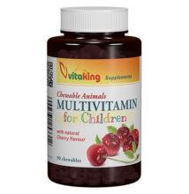 Vitaking Gyerek Multivitamin meggyes 90X