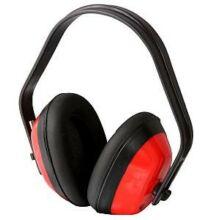 Fülvédő piros/fekete CE/EN