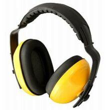 Fülvédő sárga/fekete profi CE/EN párnázott