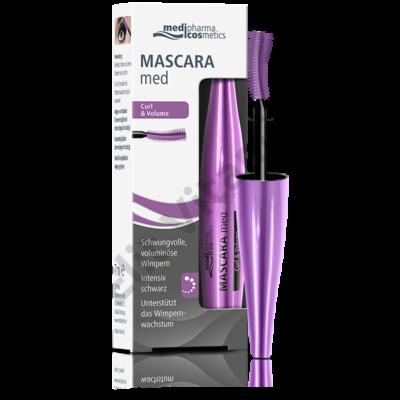 Mascara Med Curl & Volume Szempillaspirál