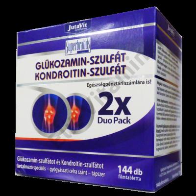 Jutavit Glükozamin-szulfát, Kondroitin-szulfát és MSM speciális tápszer 144 db