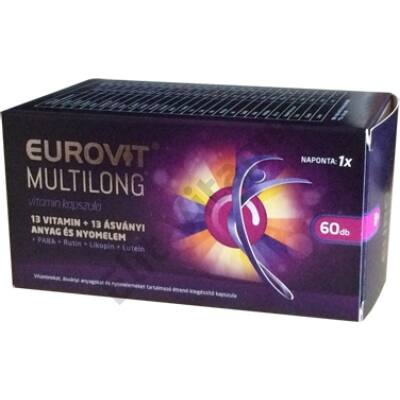 Eurovit Multilong tabletta 60X