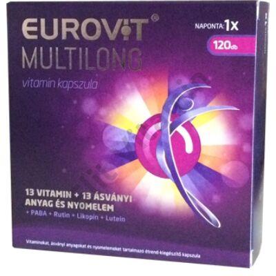 Eurovit Multilong tabletta 120X