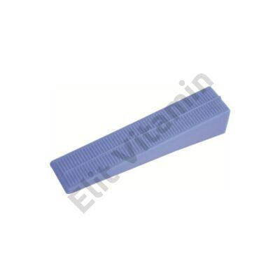 Burkolat szintező készlethez ék 98x21x20 mm 100 db-os