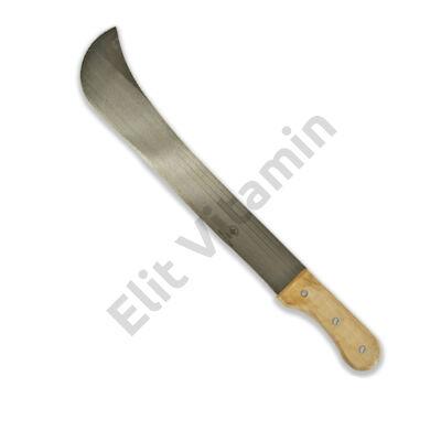 Bozótvágó kés 500mm fa nyéllel