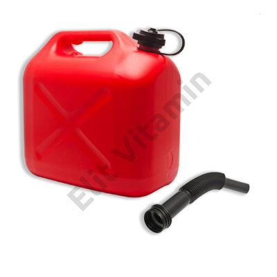 Üzemanyag kanna 10 literes, műanyag