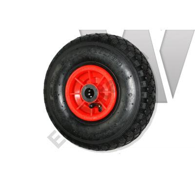 Molnárkocsi kerék műanyagfelnis, tűgörgős