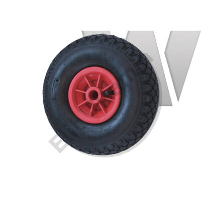 Molnárkocsi kerék műanyagfelnis, siklócsapágyas