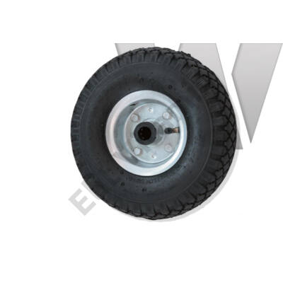 Molnárkocsi kerék fém felnis, tűgörgős 3.00-4